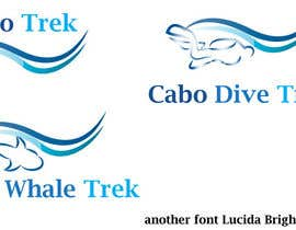 #28 para Design a Logo for Cabo Trek | Whale watching and more por lilybak