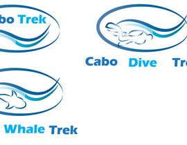 #38 para Design a Logo for Cabo Trek | Whale watching and more por lilybak