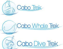 #40 untuk Design a Logo for Cabo Trek | Whale watching and more oleh tonoforce