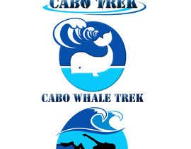 #33 untuk Design a Logo for Cabo Trek | Whale watching and more oleh kelum02