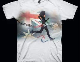 #64 para T-shirt Design for Australian United Sportswear de lolish22