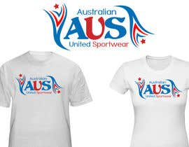 #53 para T-shirt Design for Australian United Sportswear de junaidaf