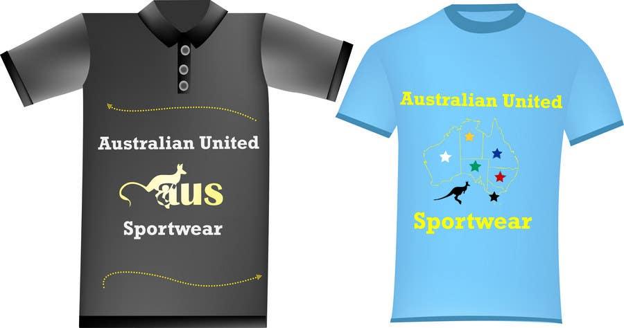 Bài tham dự cuộc thi #                                        26                                      cho                                         T-shirt Design for Australian United Sportswear