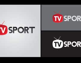 nº 93 pour Design a brilliant logo for TVsport par lingga1411