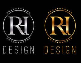 #25 para Design eines Logos for RH DESIGN por CreativeHands1