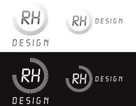 #17 para Design eines Logos for RH DESIGN por daveiant