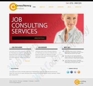 #1 for Design for a Marketing / Consulting website by jemes87