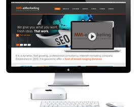 #8 for Design for a Marketing / Consulting website by geniedesignssl
