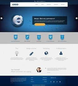 #17 for Design for a Marketing / Consulting website by jeransl