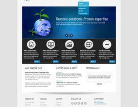 robertlopezjr tarafından Design for a Marketing / Consulting website için no 12