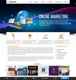 #18 for Design for a Marketing / Consulting website by dilip08kmar