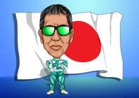 Illustrator Konkurrenceindlæg #18 for Caricature of a Japanese Man