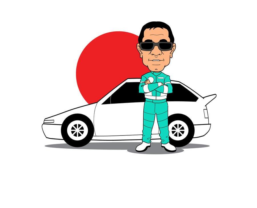 Bài tham dự cuộc thi #                                        33                                      cho                                         Caricature of a Japanese Man
