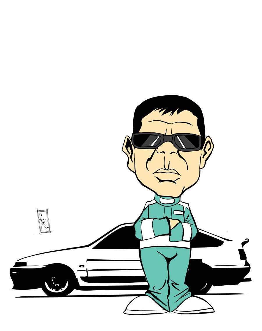 Bài tham dự cuộc thi #                                        52                                      cho                                         Caricature of a Japanese Man