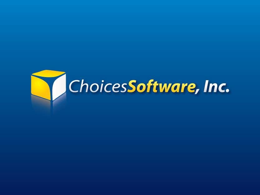 Konkurrenceindlæg #                                        771                                      for                                         Logo Design for Choices Software, Inc.