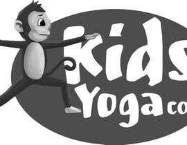 nº 44 pour Design a Logo for Kids Yoga using Monkey par adityajoshi37
