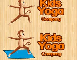 nº 62 pour Design a Logo for Kids Yoga using Monkey par zonisto