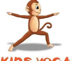nº 57 pour Design a Logo for Kids Yoga using Monkey par nickkad