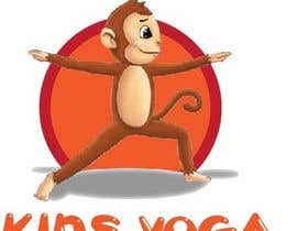 nickkad tarafından Design a Logo for Kids Yoga using Monkey için no 59