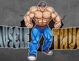 #17 for Illustrate a massive muscular character for company mascot - must be original work!! by losmanto