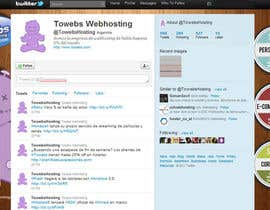#15 untuk Twitter Background for towebs.com oleh pxleight