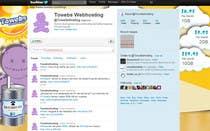 Graphic Design Kilpailutyö #14 kilpailuun Twitter Background for towebs.com