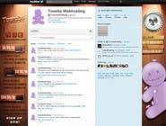 Graphic Design Kilpailutyö #20 kilpailuun Twitter Background for towebs.com