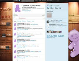 #19 para Twitter Background for towebs.com por pxleight