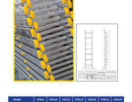 #9 for Design a Two Page Brochure for HIGHTAIL Ladders & Casters af CBDesigns101