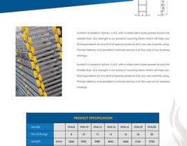 #14 for Design a Two Page Brochure for HIGHTAIL Ladders & Casters af SheryVejdani