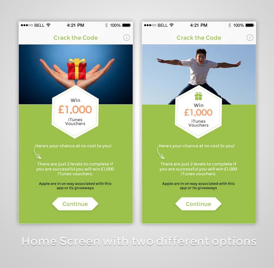 Penyertaan Peraduan #                                        7                                      untuk                                         Create this simple iOS app