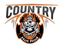 #13 para Design a Logo for Country Hotrods por fanifarhan8