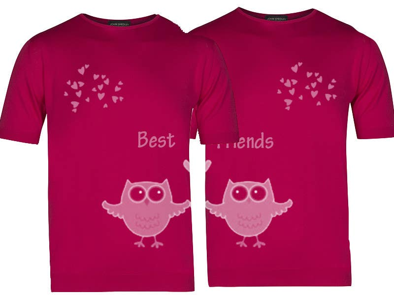 Design A T Shirt Best Friends Freelancer