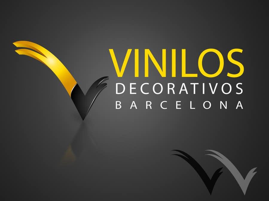 #27 for Design a Logo for a decorative vinyl web by hafizawais456