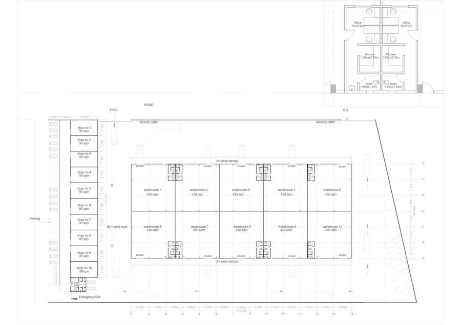 Warehouse Floor Plan Wanted Freelancer
