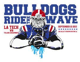 #17 para Louisiana Tech Football Gameday Tee shirts por alexispereyra