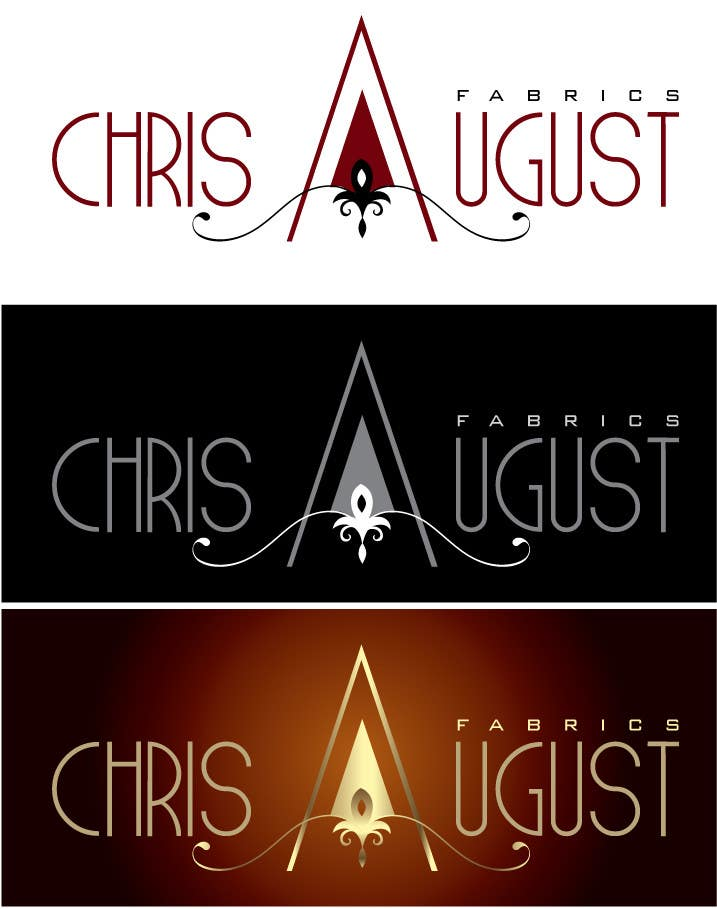 #145 for Logo Design for Chris August Fabrics by jaqueline