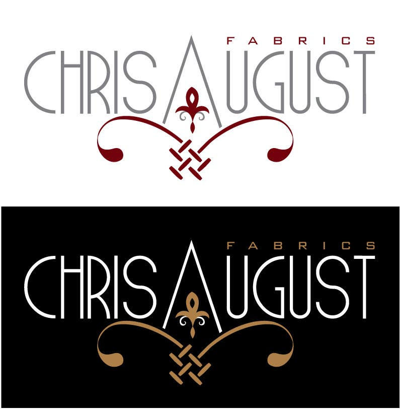 #170 for Logo Design for Chris August Fabrics by jaqueline