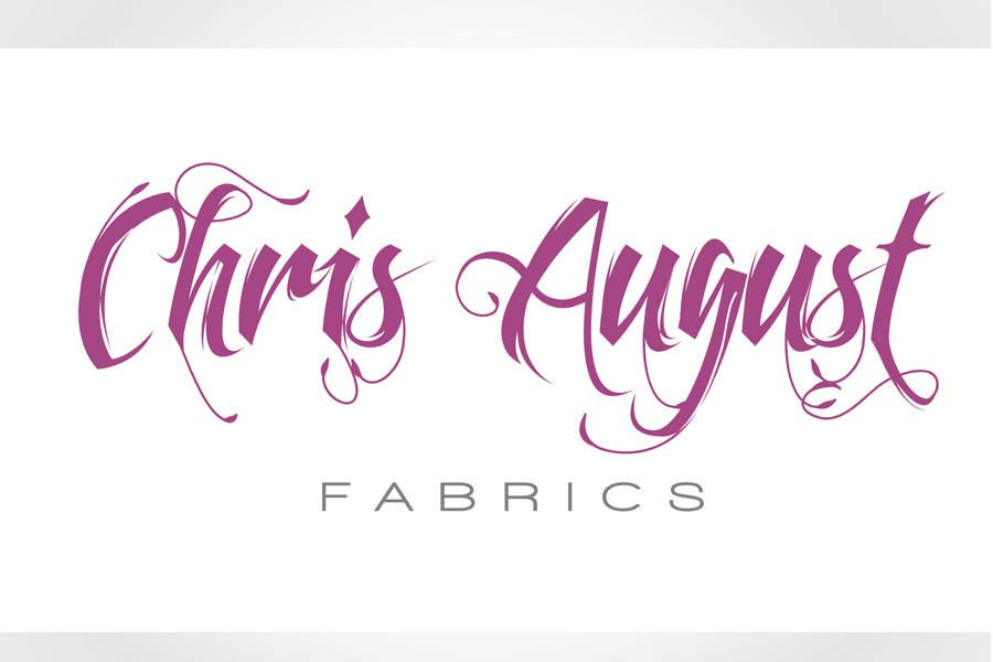 Entri Kontes #514 untukLogo Design for Chris August Fabrics