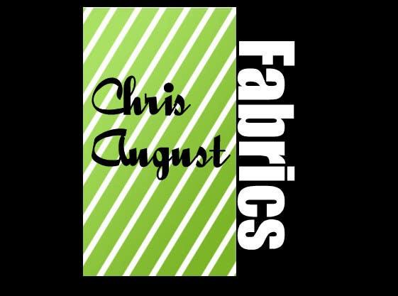 Penyertaan Peraduan #466 untuk Logo Design for Chris August Fabrics