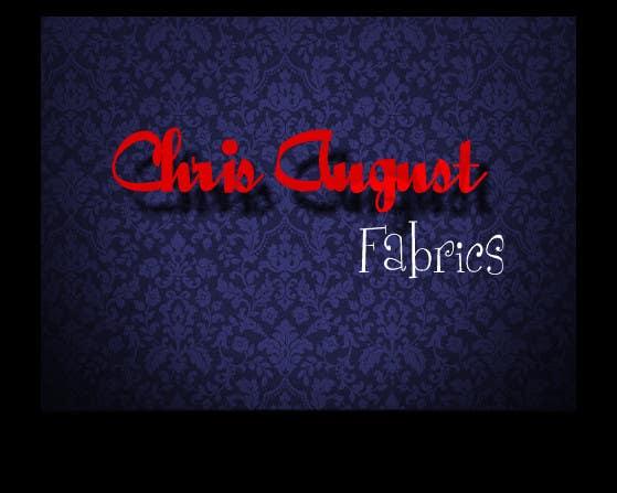 Proposition n°463 du concours Logo Design for Chris August Fabrics