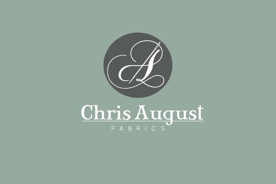 #171 for Logo Design for Chris August Fabrics by sararanderson