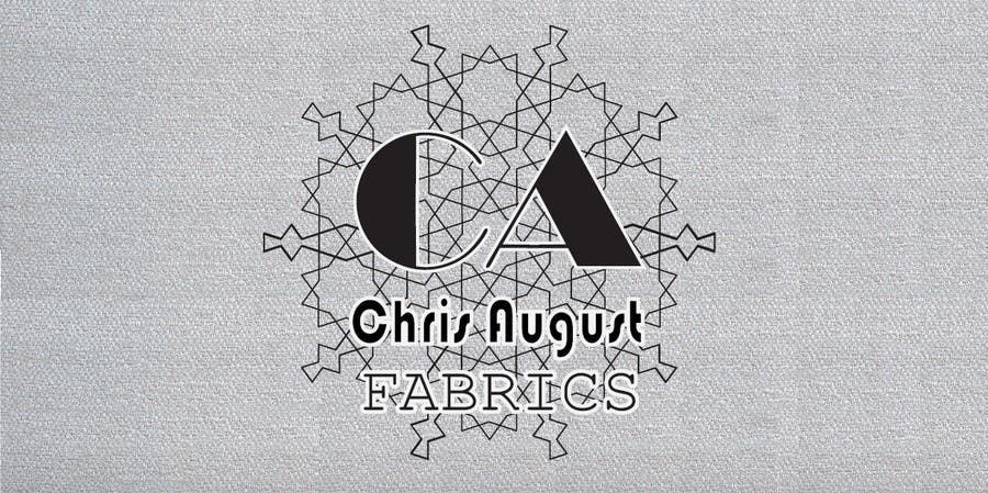 Penyertaan Peraduan #527 untuk Logo Design for Chris August Fabrics