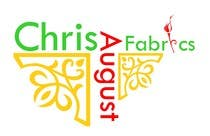 Graphic Design Entri Kontes #472 untuk Logo Design for Chris August Fabrics