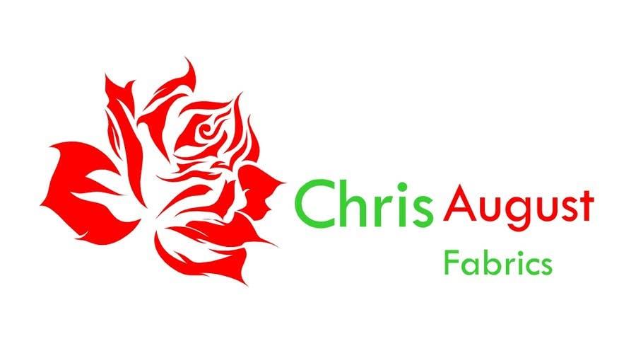Proposition n°471 du concours Logo Design for Chris August Fabrics