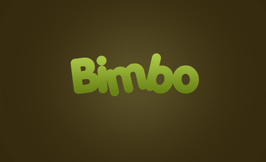 Kilpailutyö #1 kilpailussa Logo Design for Bimbo