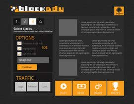 nº 23 pour Design the Look and feel for Blockady website par chithrarahul