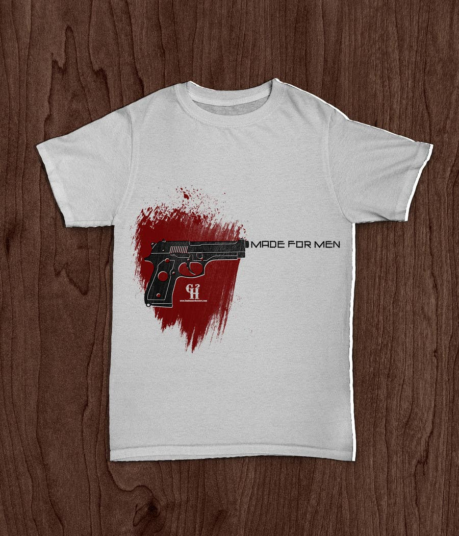 Shirt design companies -  13 For Firearm Related T Shirt Design For Holster Company By Mkh55ec44a92789b