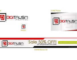 #117 for Design a logo for digitalism.ph by amzki