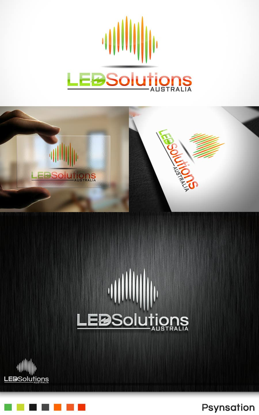 #32 for Update a Logo for LED Solutions Australia by Psynsation